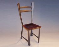 bowed chair