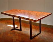 bubinga kitchen table