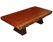 Jones' Bubinga Coffee Table